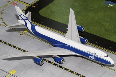 Air Bridge Cargo 747-8F VQ-BRJ (1:200), GeminiJets 200 Diecast Airliners, Item Number G2ABW585
