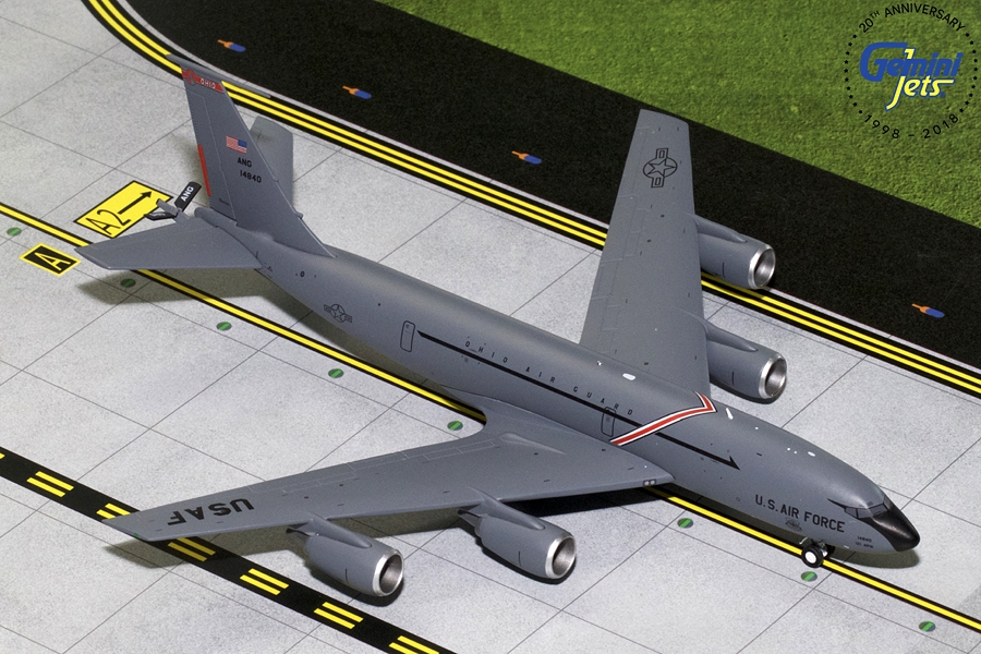USAF Boeing KC-135R Ohio Air National Guard 64-14840 (1:200) - Preorder item, order now for future delivery