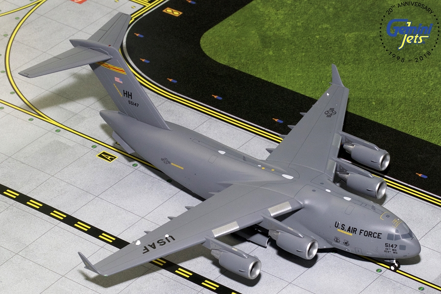 USAF Boeing C-17 Hawaii Air National Guard 05-5147 (1:200) - Preorder item, order now for future delivery