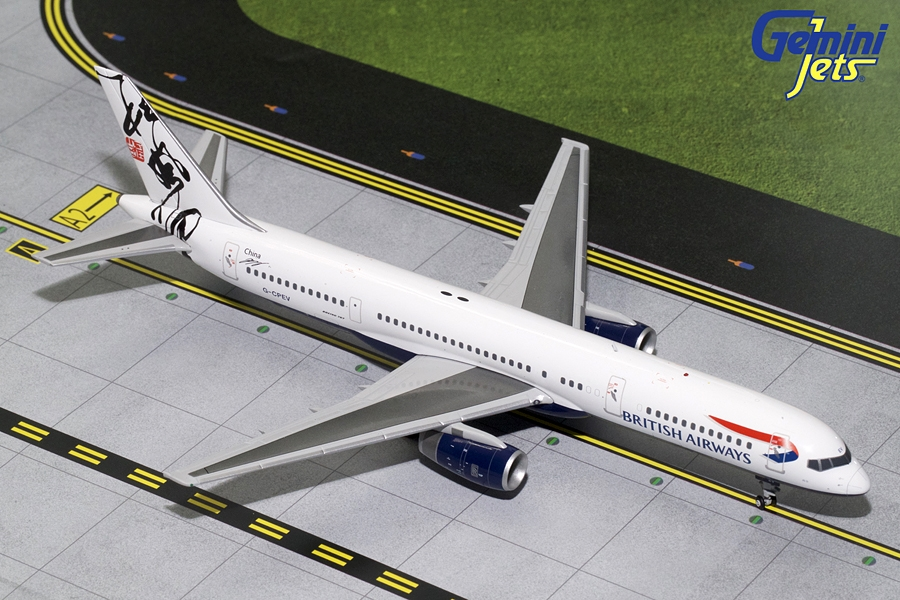 British Airways B757-200 Rendezvous Tail G-CPEV (1:200), GeminiJets 200 Diecast Airliners Item Number G2BAW691