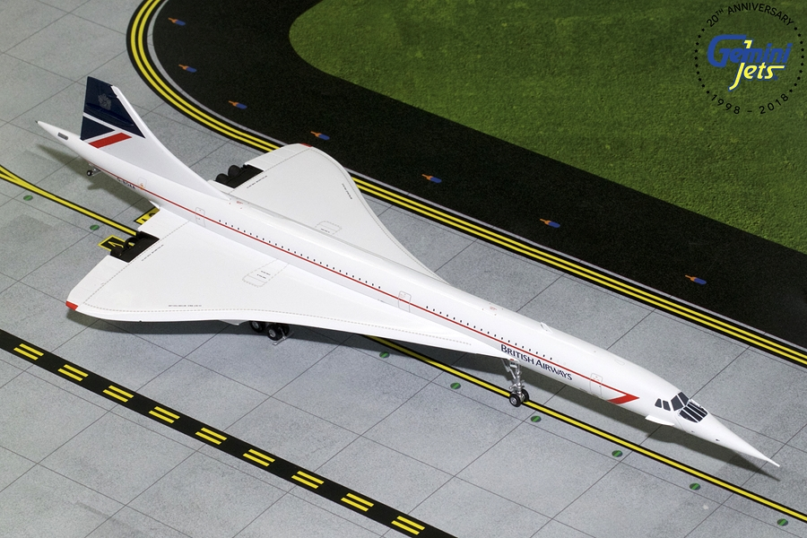British Airways Concorde Landor Livery G-BOAA (1:200)