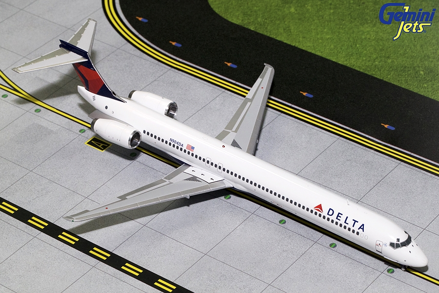 Delta Airlines MD-90 N904DA (1:200), GeminiJets 200 Diecast Airliners Item Number G2DAL719