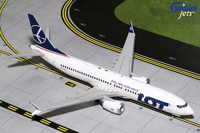 LOT Polish B737 MAX-8 SP-LVA (1:200)