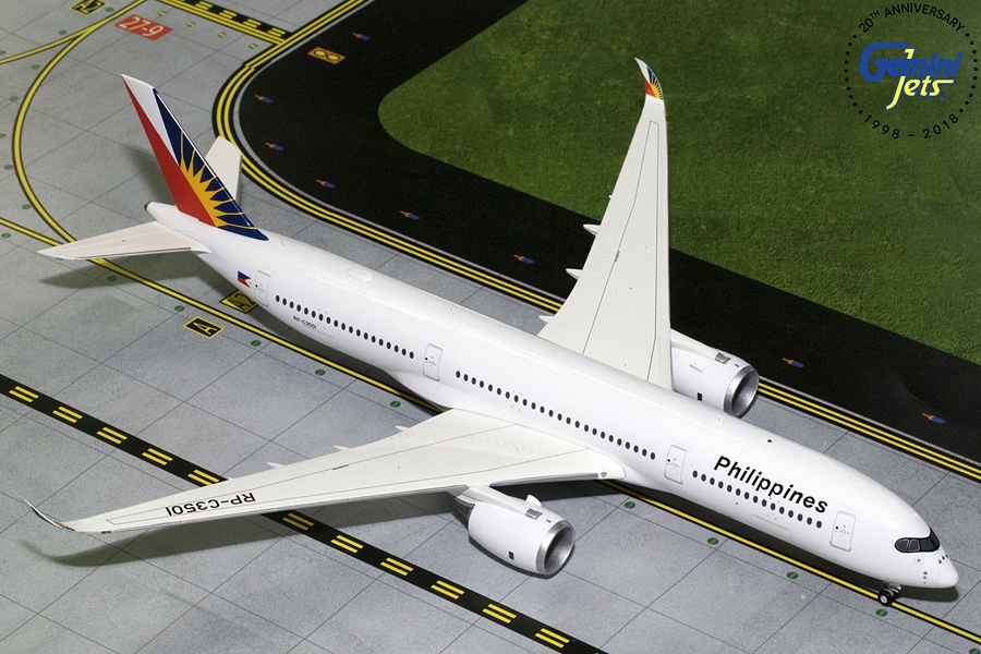 Philippine Airlines A350-900 RP-C3501 (1:200) - Preorder item, order now for future delivery