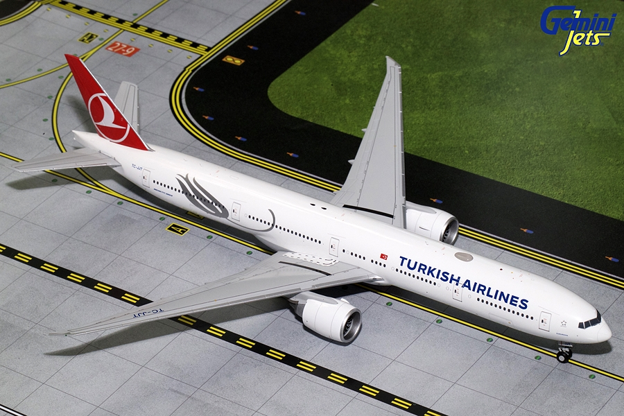 Turkish Airways B777-300ER TC-JJT (1:200), GeminiJets 200 Diecast Airliners, Item Number G2THY680