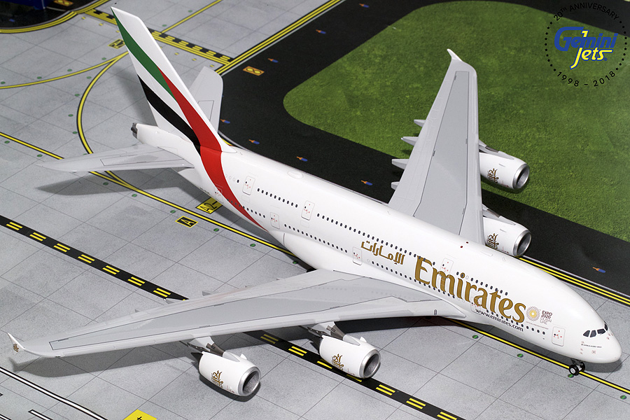 Emirates A380 Expo 2020 A6-EUC (1:200)