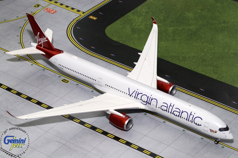 Virgin Atlantic A350-1000 G-VXWB (1:200) - New Mould, GeminiJets 200 Diecast Airliners Item Number G2VIR731