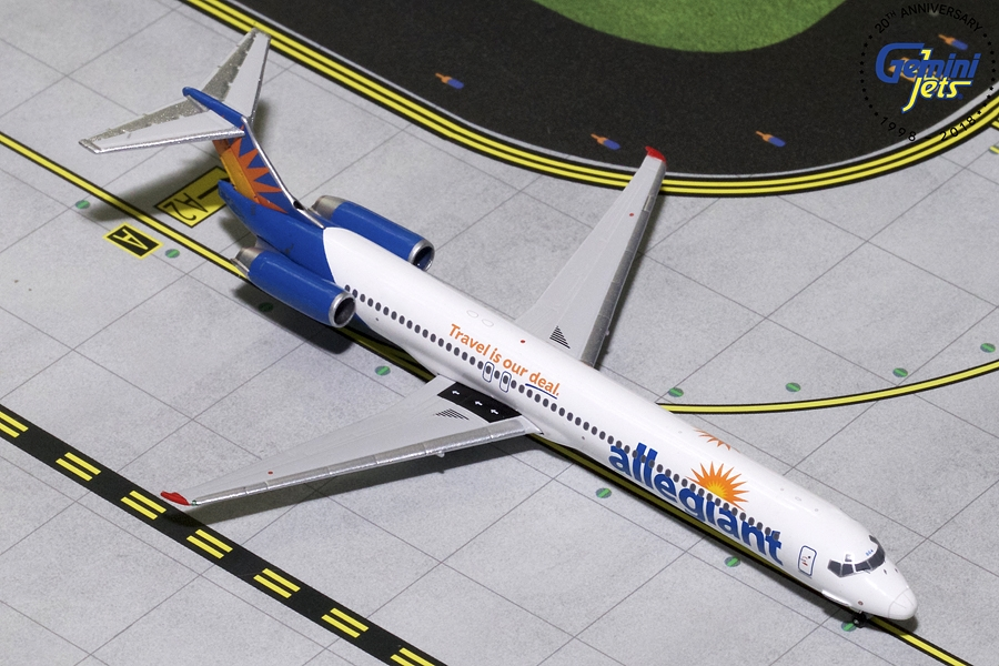 "Allegient MD-82 ""Good Bye MD-80"" (1:400), GeminiJets 400 Diecast Airliners, GJAAY1777"