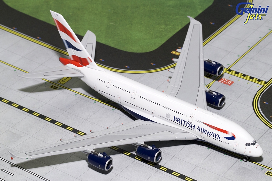 British Airways A380 G-XLEC (1:400)