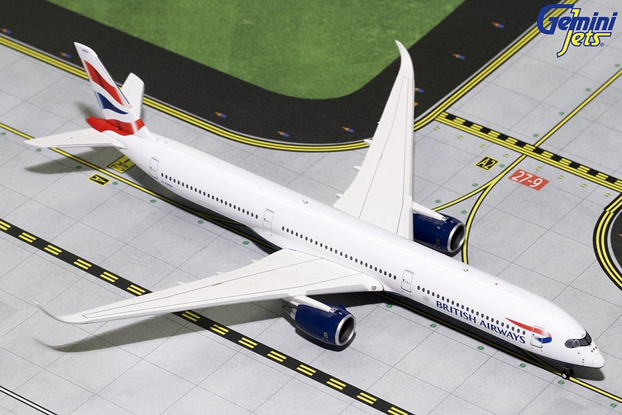 British Airways A350-1000 G-XWBA (1:400), GeminiJets 400 Diecast Airliners Item Number GJBAW1759