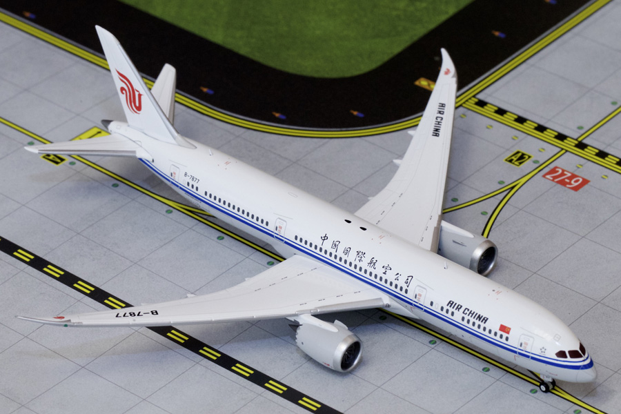 Air China B787-9 B-7877 (1:400), GeminiJets 400 Diecast Airliners Item Number GJCCA1579