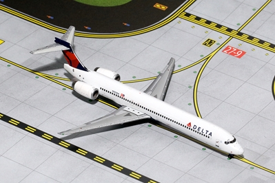 Delta MD-90 N903DA with SkyTeam Logo (1:400), GeminiJets 400 Diecast Airliners Item Number GJDAL1454