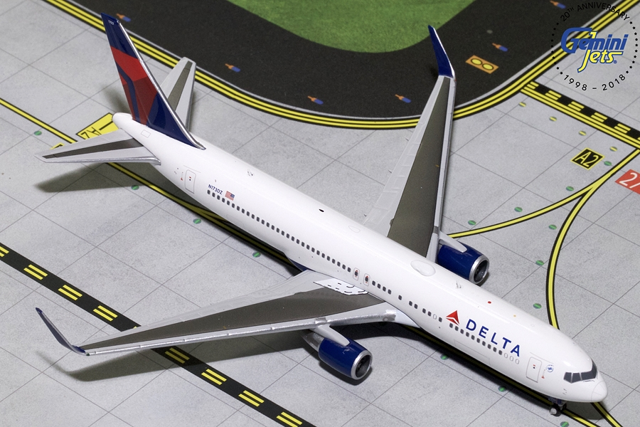 Delta B767-300ER winglets N173DZ (1:400) - Preorder item, order now for future delivery