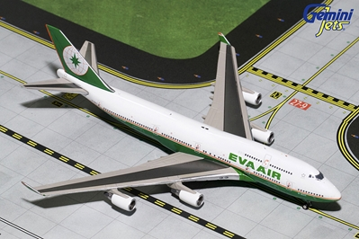 "EVA Air B747-400 B-16411 ""Final Flight"" (1:400), GeminiJets 400 Diecast Airliners Item Number GJEVA1694"