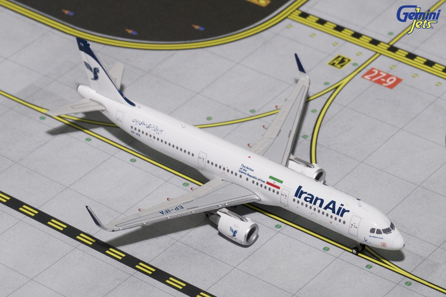"Iran Air A321-200 with Sharklets ""New Livery"" EP-IFA (1:400)"