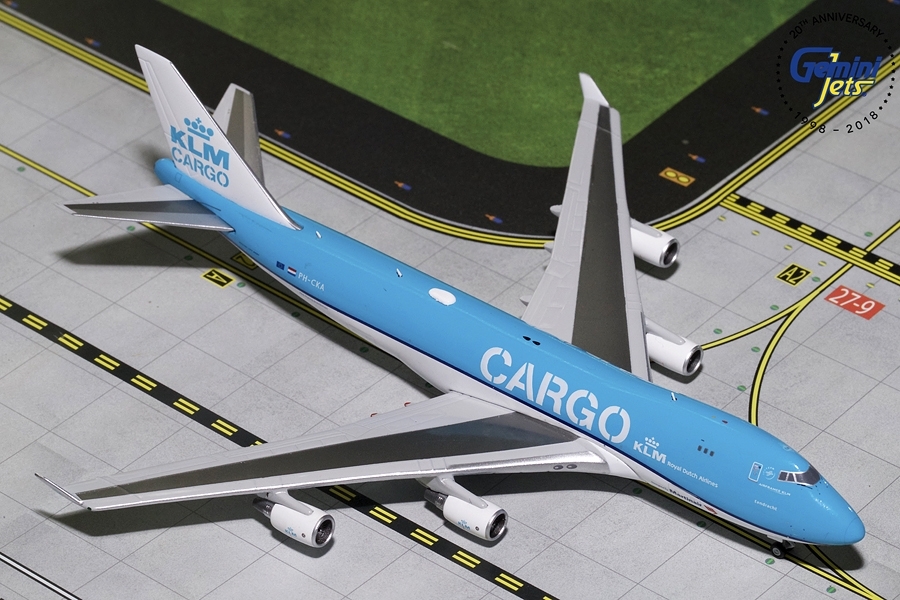 "KLM Cargo B747-400F ""New Livery"" PH-CKA (1:400) - Preorder item, order now for future delivery"