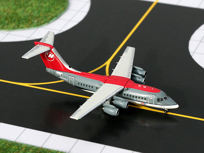 Northwest Airlink RJ-85, Old Livery (1:400), GeminiJets 400 Diecast Airliners, Item Number GJNWA673