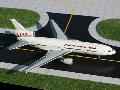 Omni Air DC-10-30 (1:400), GeminiJets 400 Diecast Airliners, Item Number GJOAE444