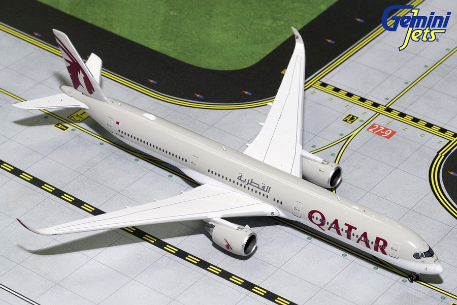 Qatar A350-1000 A7-ANA (1:400) New Mould, GeminiJets 400 Diecast Airliners Item Number GJQTR1682