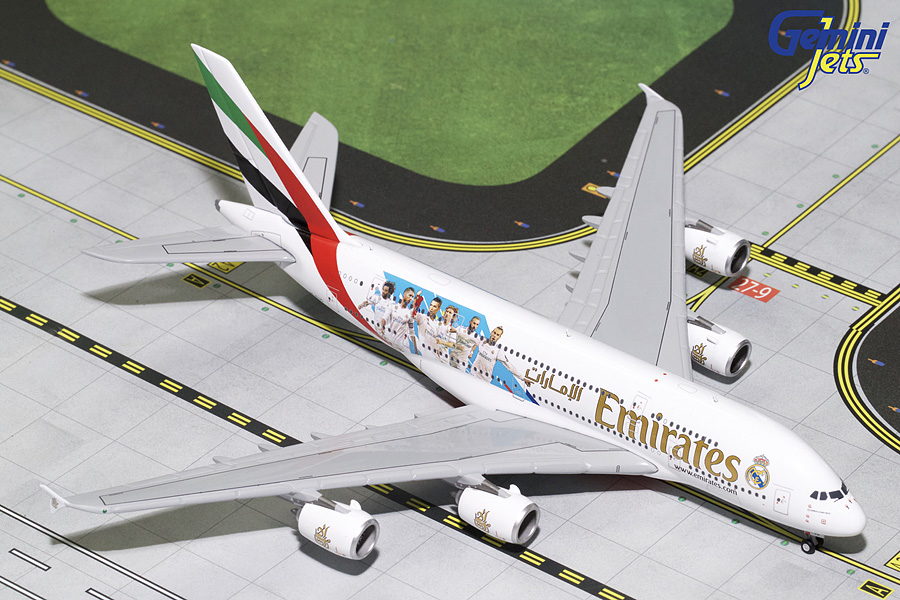 "Emirates A380-800 ""Real Madrid"" A6-EUG (1:400)"