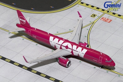 Wow Air A321neo TF-SKY (1:400)