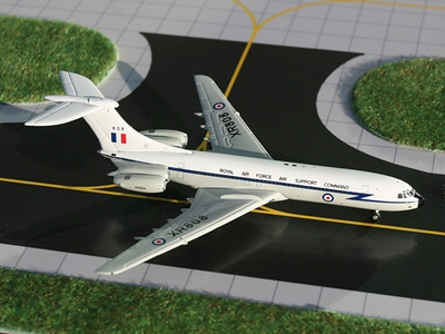"RAF Standard VC-10 ""RAF Air Support Command"" (1:400), GeminiJets 400 Diecast Airliners Item Number GMRAF035"
