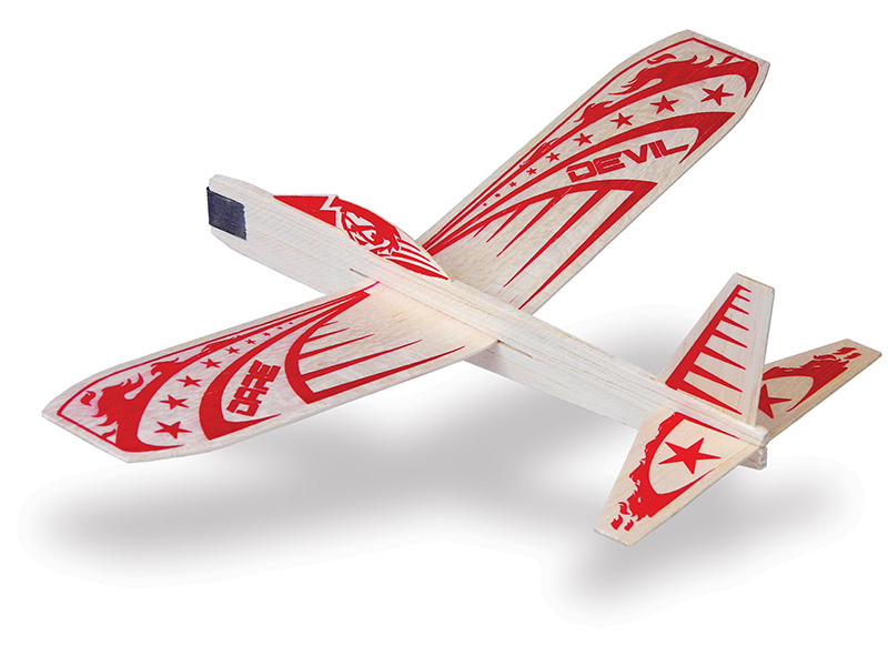 Dare Devil Balsa Glider, Guillow Item Number GUI41