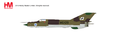 "MIG-21 BIS ""Fishbed"", 31st Fighter Squadron, Kuopio Airbase, Finland 1980 (1:72)"