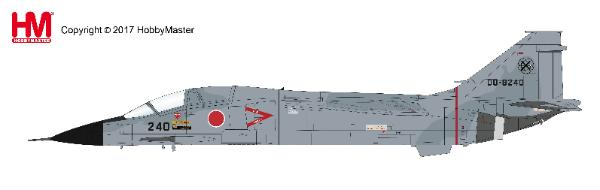 "Mitsubishi F-1, ""Air Combat Meet 2000"" 00-8240, 6th SQ, 8th AW, JASDF (1:72) - Preorder item, order now for future delivery , Hobby Master Diecast Airplanes Item Number HA3407"