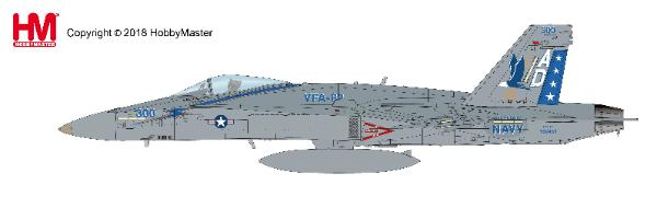 "F/A-18C Hornet, VFA-82 ""CAG"", USS America, 2005 (1:72), Hobby Master Diecast Airplanes Item Number HA3539"