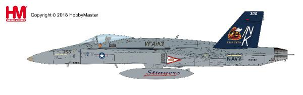 "F/A-18C Hornet VFA-113, ""Stingers,"" USS John C Stennis, 2005 (1:72) - Preorder item, order now for future delivery"