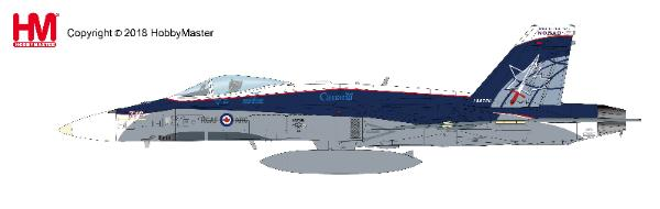 "CF-188 Hornet RCAF ""NORAD 60th Anniverary Scheme"", 2018 (1:72) - , Hobby Master Diecast Airplanes Item Number HA3542"