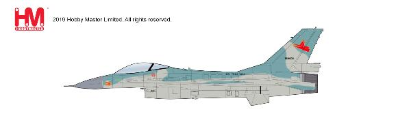"Lockheed F-16A Block 15 TS-1608, TNI-AU ""Indonesian Air Force"", circa 2001 (1:72) - Preorder item, order now for future delivery, Hobby Master Diecast Airplanes, HA3861"