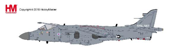 Sea Harrier FA.2 No. 800 NAS, Fleet Air Arm, HMS Invincible, Mediterranean, July 1995 (1:72) - Preorder item, order now for future delivery, Hobby Master Diecast Airplanes, HA4105