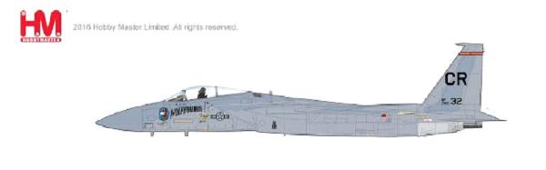 F-15C Eagle, Col. Lee Alton, CO of 32nd TFS, Soesterberg Air Base (1:72)