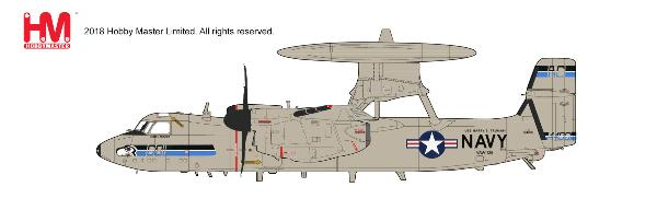 "E-2C Hawkeye, VAW-126 ""Seahawks"", USS Harry S. Truman, May 2011 (1:72) - Preorder item, order now for future delivery, Hobby Master Diecast Airplanes Item Number HA4811"