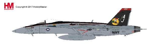 "F/A-18E Hornet VFA-31, ""Santa CAG""  Dec 2008 (1:72) - Preorder item, order now for future delivery"