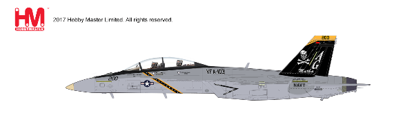 "F/A-18F Super Hornet, AG 200/166620, VF-103 ""JR"", NAS Fallon, July 2015 (1:72) - Preorder item, order now for future delivery"