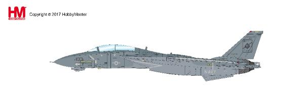 "F-14A Tomcat 158612, ""Delores"" VF-41, USS Enterprise, Oct 2001 (1:72) - Preorder item, order now for future delivery, Hobby Master Diecast Airplanes Item Number HA5218"