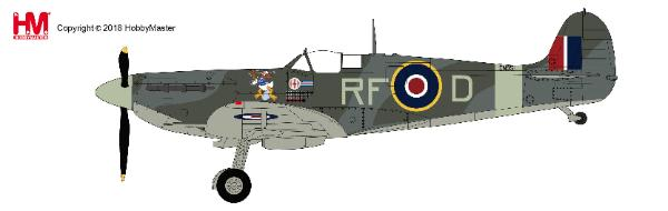 Spitfire Vb RF-D/EN951, flown by Sqn. Leader Jan Zumbach, 303 Sqn., RAF, summer 1942 (1:48) - Preorder item, order now for future delivery
