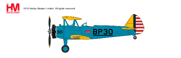 Stearman PT-17 Kaydet 4BFTS (British Flight Training School), Mesa, early 1940s (1:48) - Preorder item, order now for future delivery