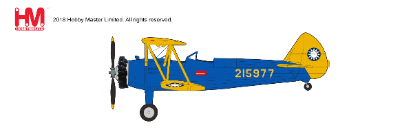 Stearman PT-17 Kaydet Chinese Air Force (1:48) - Preorder item, order now for future delivery