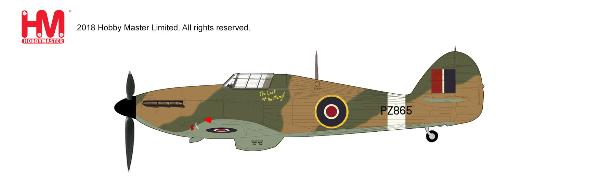 "Hawker Hurricane IIC, ""The Last of the Many!"" PZ865, 1944 (1:48)"