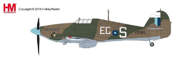 Hawker Hurricane Mk.I, Sgt. B. Furst, 310 Sqn., Duxford, Sept 1940 (1:48), Hobby Master Diecast Airplanes Item Number HA8651