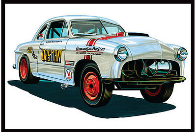 49 Ford Coupe Gas Man 1:25, AMT Plastic Model Kits Item Number AMT1022