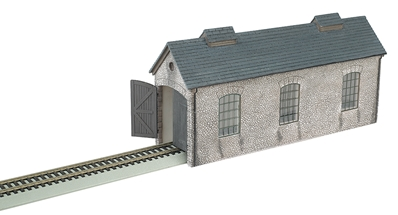 Ho Thomas and Friends Engine Shed, Bachmann Model Trains Item Number BAC35905