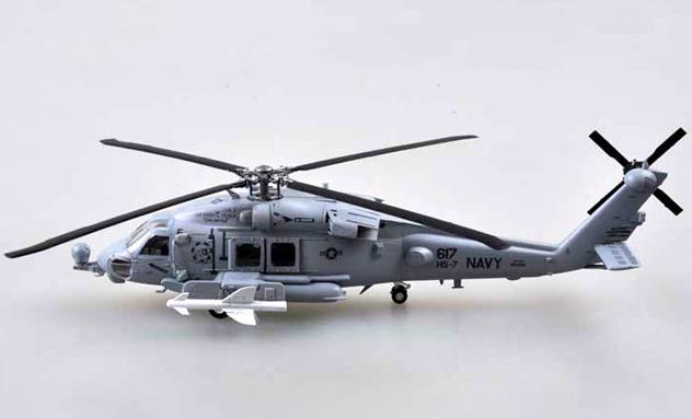 "HH-60H, AC-617 of HS-7 ""Dusty Dogs"", USS Harry S.Truman (1:72)"
