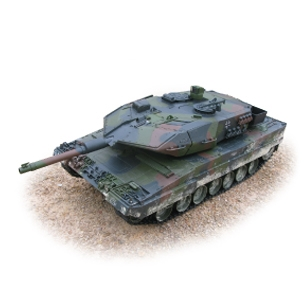 R/C Leopard Tank (1:16 Scale) 2.4ghz Premium Series, Hobby Engine Radio Control Item Number HOB707