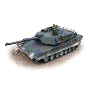 R/C M1A1 Abrams Tank (1:16 Scale) 2.4ghz Premium Series, Hobby Engine Radio Control Item Number HOB711