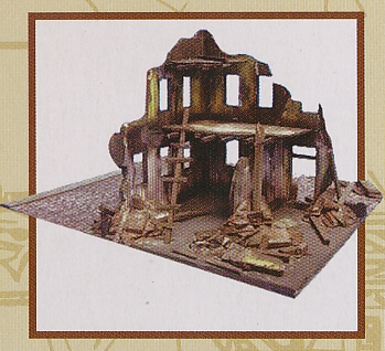 WW-II BOMBED OUT BUILDING 1:72, IMEX, IMX6508